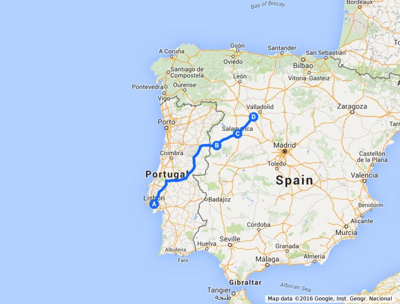 Salamanca - Tordesillas