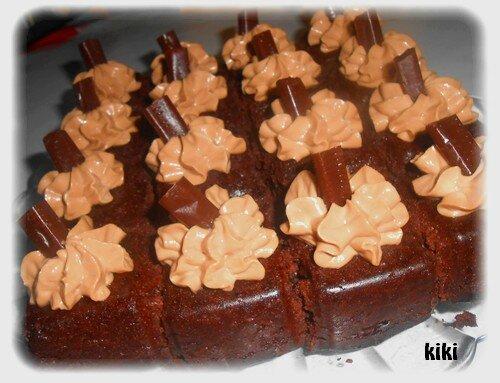gateau façon cupcake au carambar caramel