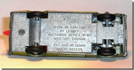Lesney Matchbox 62 C 5
