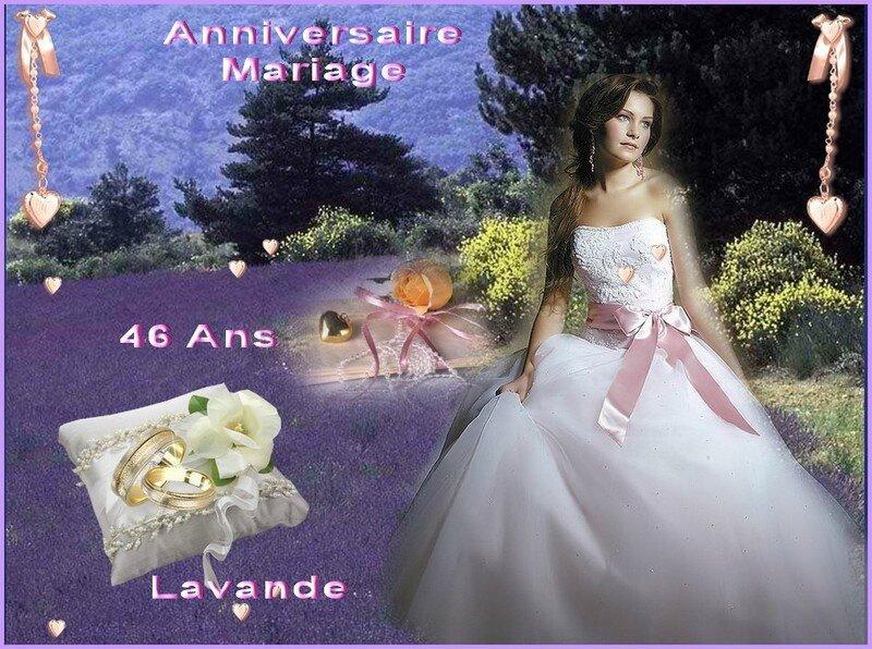 anniversaire mariage lavande 2