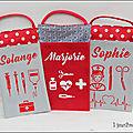 Pochettes à crayons pour infirmière et aide soignante