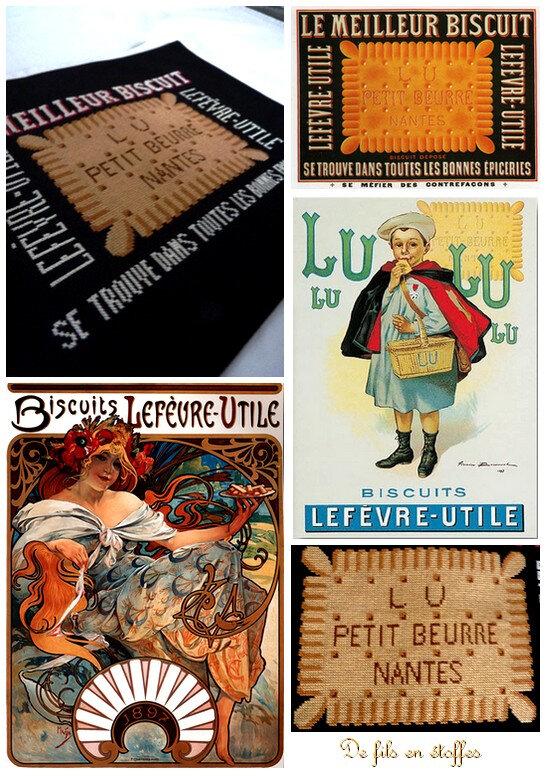 Affiches publicitaires LU 1897