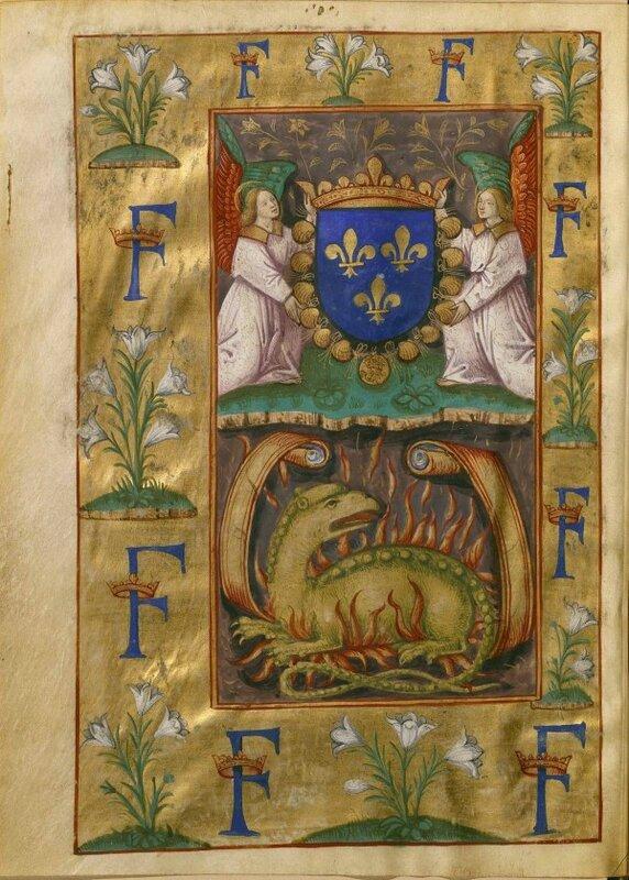 La salamandre de François Ier, Claude de Seyssel, La Grant Monarchie de France, vers 1515