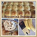 Brownie à la banane