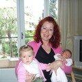 Avec Mamie et ma cousine Lina