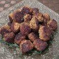 Boulettes de viande à la coriandre et aux epices