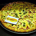 Quiche romanesco