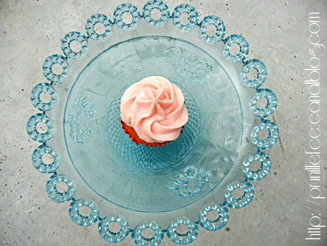 cupcakes barbe à papa prunillefee