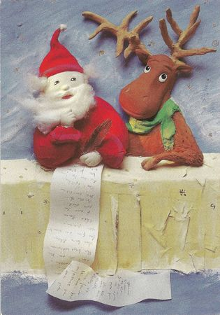 CPM Père-Noël Recto Carte du