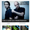 Concours infected mushroom résultats !!!
