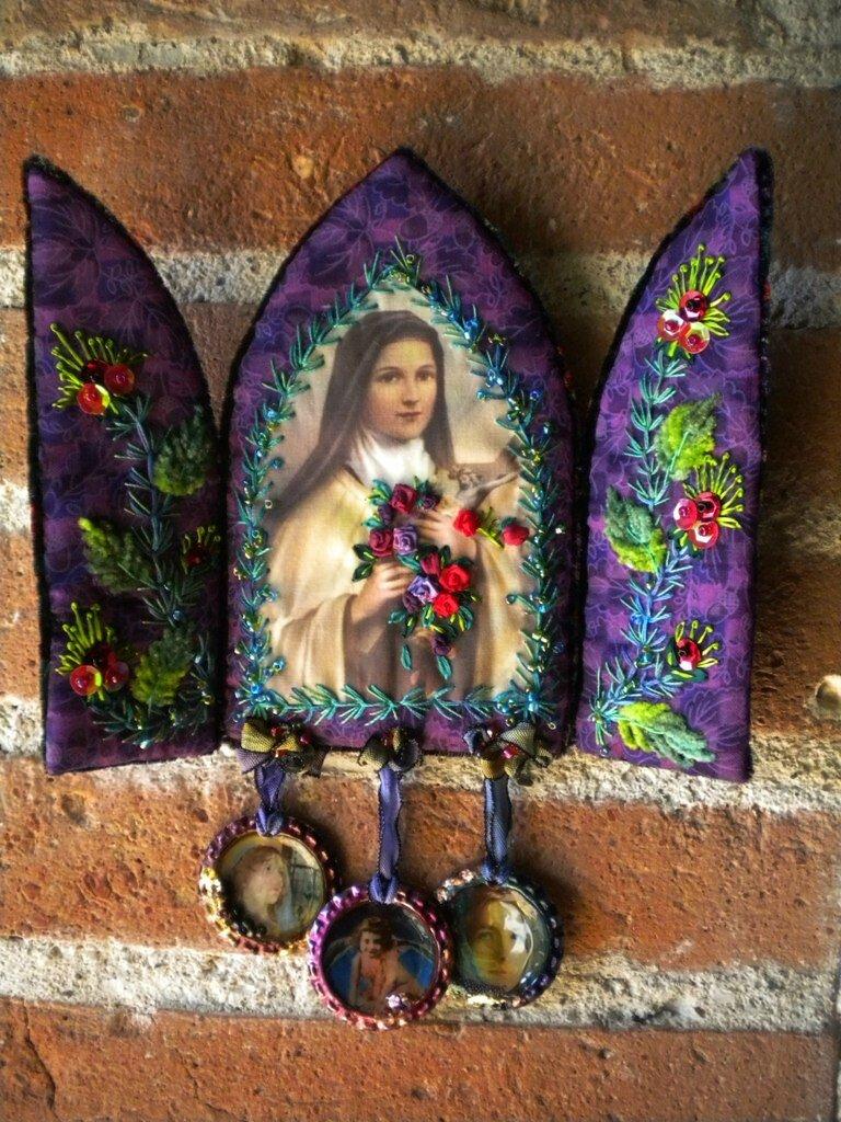 Triptyque Ste Thérèse 001