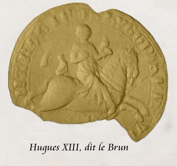Hugues XIII, dit le Brun