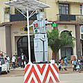 Un Robot régulant la circulation routière dans la Ville de Lubumbashi