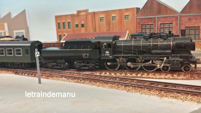 letraindemanu (661) locomotive a vapeur BR38 de la DB Marklin 3098
