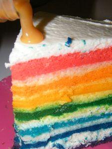 Raimbow cake 3