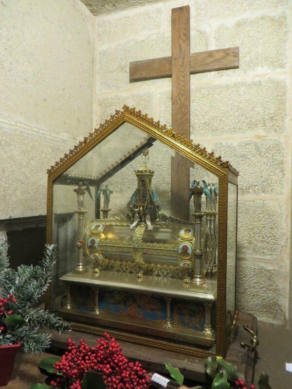 Reliquaire ossements de Marie Madeleine