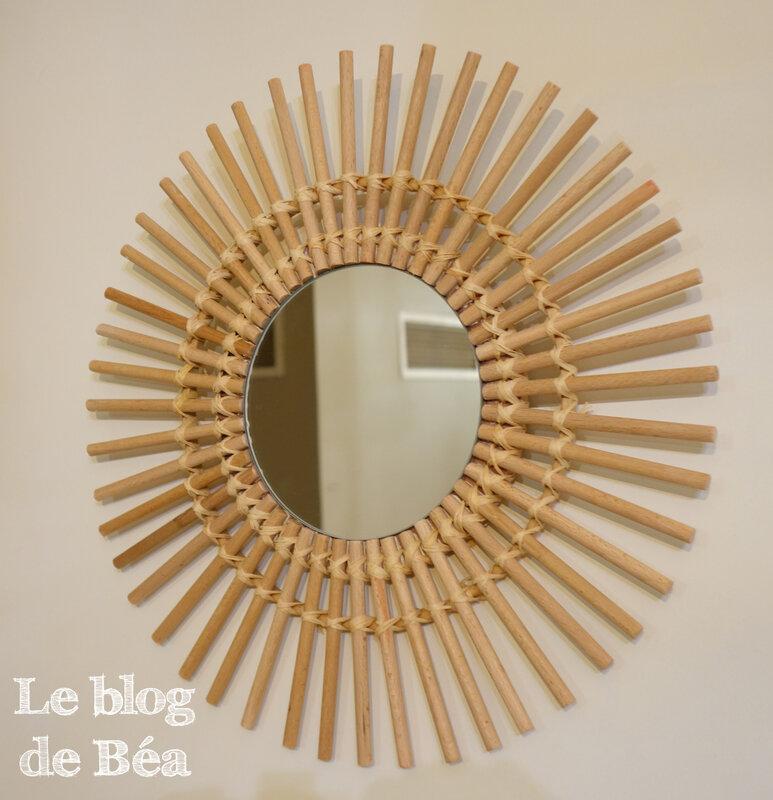 DIY miroir tendance