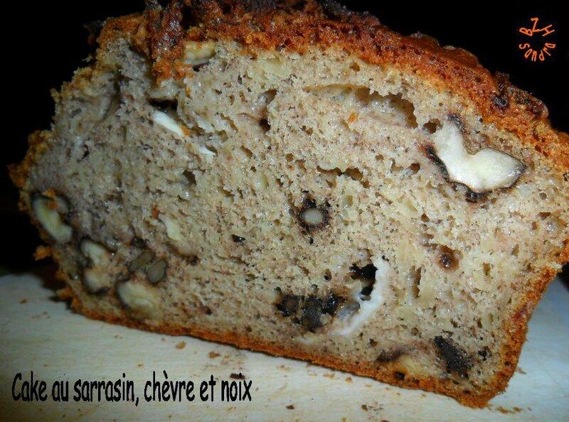 0910 Cake sarrasin chèvre et noix 2
