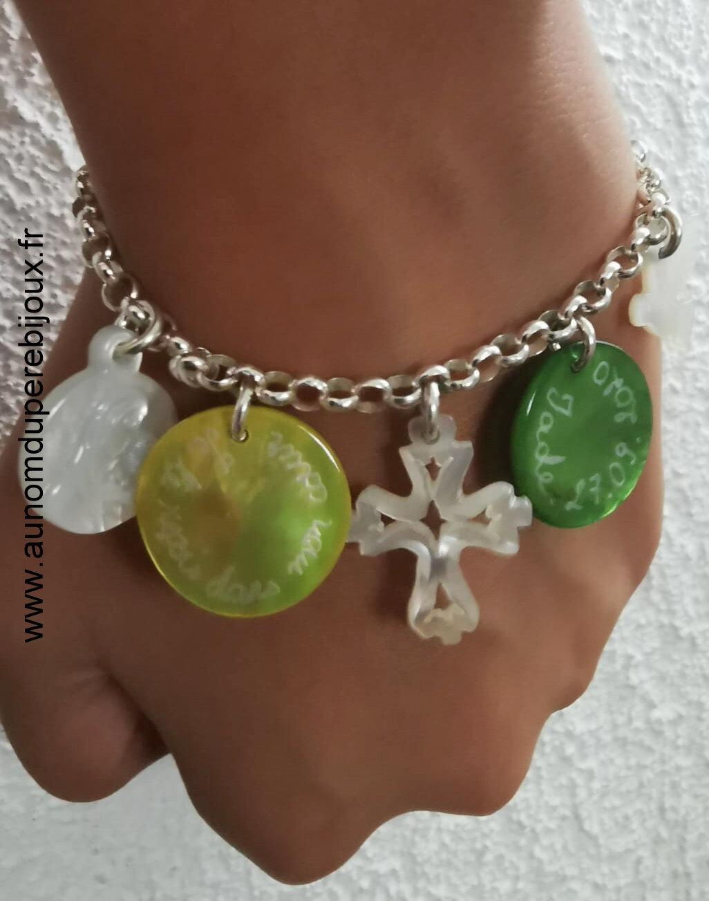 Bracelet de Jade porté 1