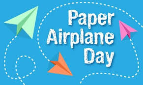 It's National Paper Airplane Day... | Toluna