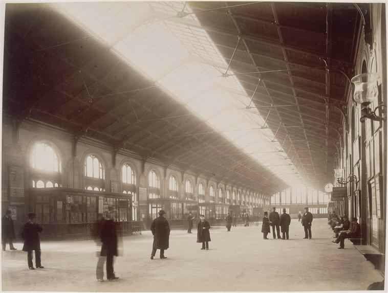 Gare Saint-Lazare 1885 Durandelle