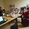 Conférence Madeleine Fontaine Etrepagny / 26112012