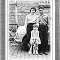 Petite photo noir et blanc mise en valeur