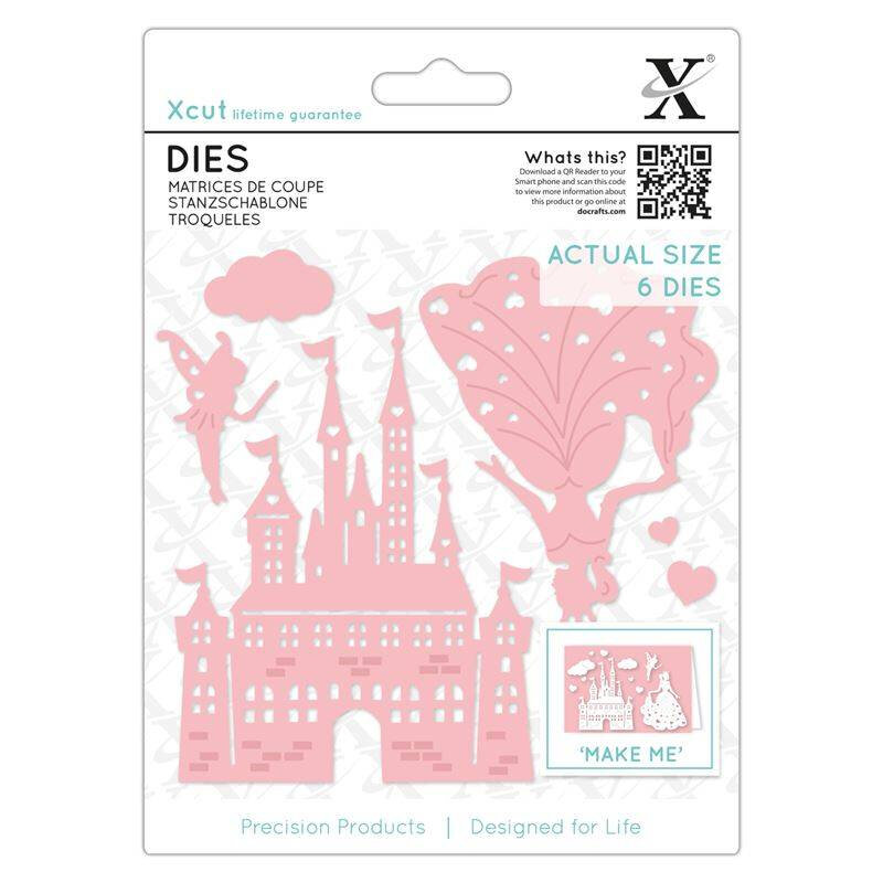 xcut-dies-princess-castle-6pcs-xcu-503342