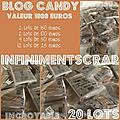 Candy infiniment scrap