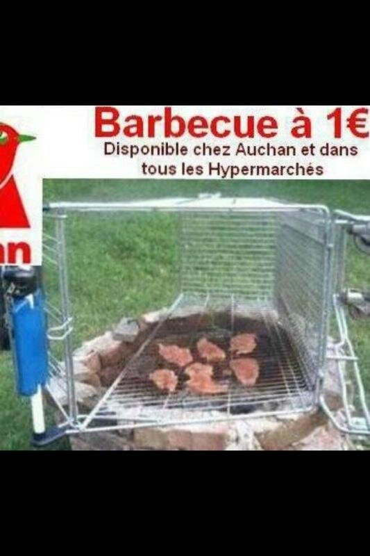 auchan humour barbecue