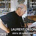 01 1 - 0639 – l'eglise d'aiti racontée par laurent orsoni – mercredi 18 juillet 2007