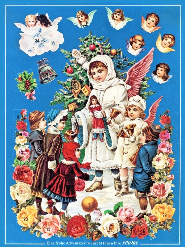 Adventskalender Anges 1990