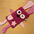 doudou_plat_lapin_fuchsia_rose_rectangle