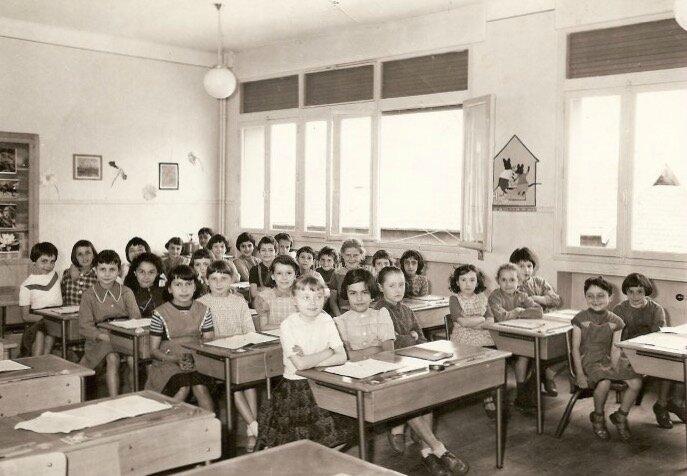 école du Châtelard 1959 (mai)