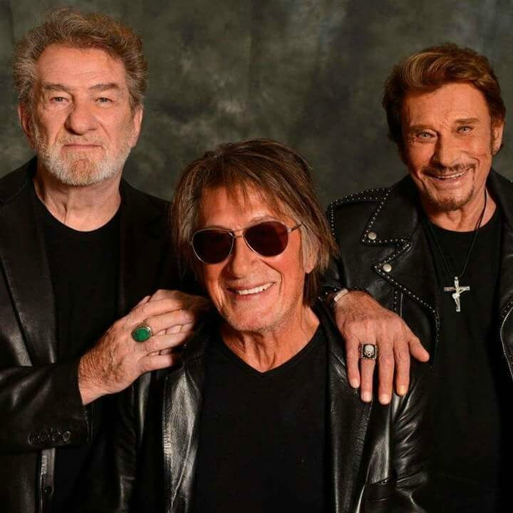 Johnny, Eddy et Jacques