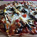 Pizza rapido presto (végétarien)