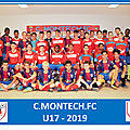 U17 montech : quelle déception !