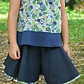 Her Little World jupe culotte Amusante