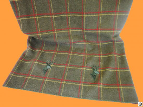 Plaid-Altalena-150x200-cm-Weston-Khaki-