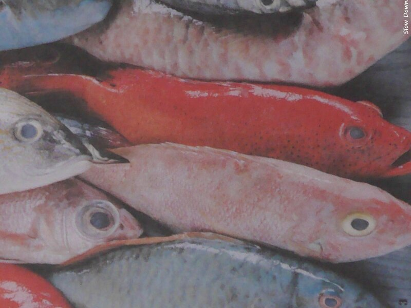 Poissons rouges