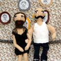 La femme à barbe et Fernand, l'homme musc'