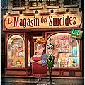 Journal de bord : le magasin des suicides