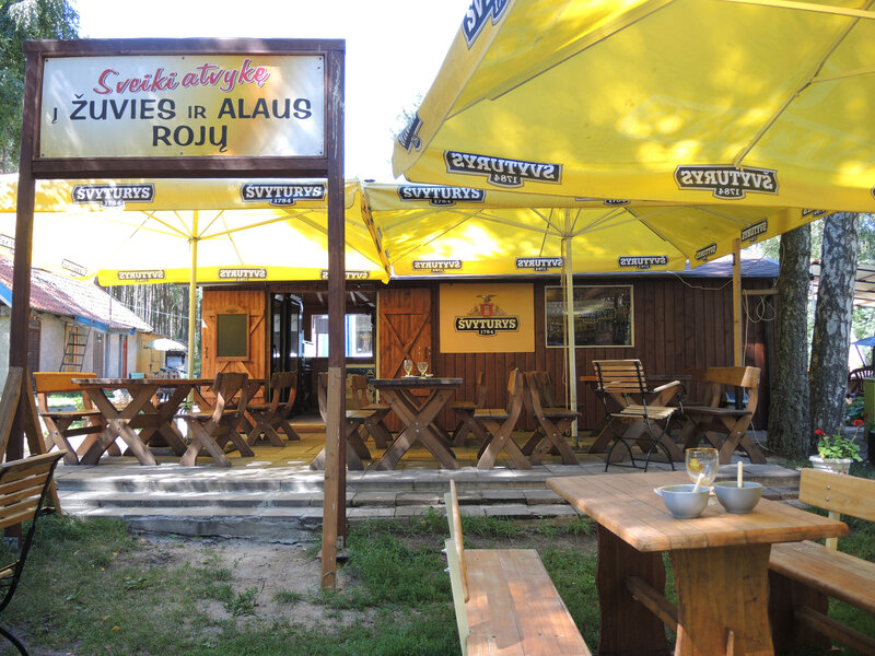 G) Pervalka, bar-restaurant (Lituanie)
