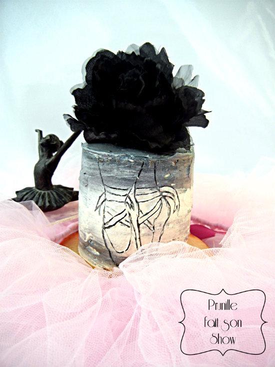 Gateau de danseuse - Ballerina cake