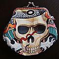Vendu - porte-monnaie japanese skull