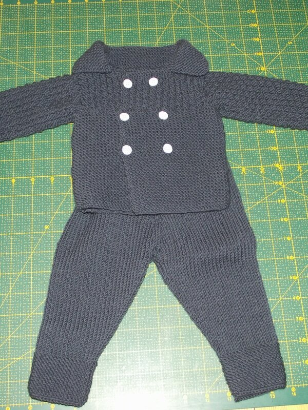 Gilet Phildar Little Darcy Pants