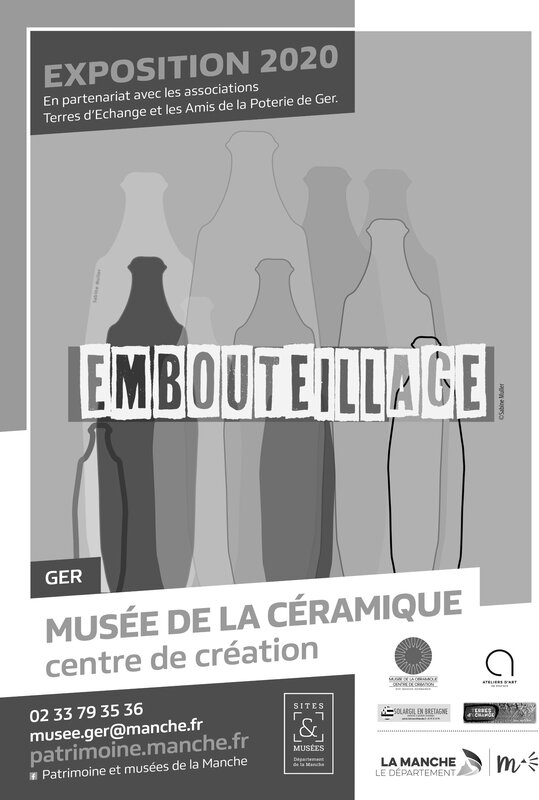 AFFICHE A3 - EXPO EMBOUTEILLAGE 2020 - GER