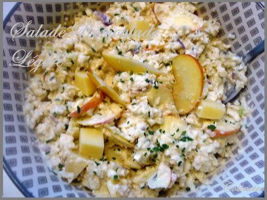 salade de célerai au yaourt grec comté et pommes 01