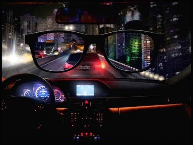 blueberry night drive lunettes nuit 1
