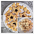 Sablés avec le set let's cook cookies & treats de metaltex